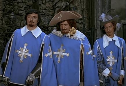 """Когда твой друг в крови (к/ф """"Три мушкетёра""""): аккорды песни"""