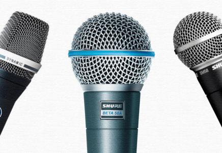 ТОП-5 лучших беспроводных вокальных микрофонов