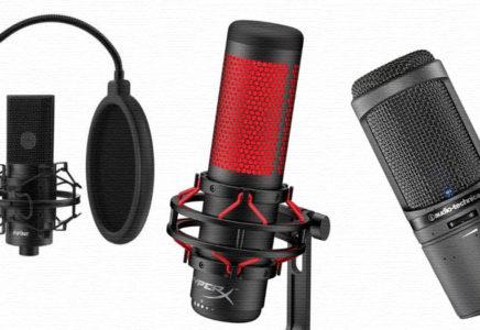 ТОП-5 лучших микрофонов для подкастов, радио, ТВ и стриминга