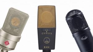 14 лучших студийных конденсаторных микрофонов для записи вокала/голоса: рейтинг 2020/2021