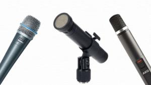 5 лучших инструментальных микрофонов (динамических и конденсаторных): рейтинг 2020/2021