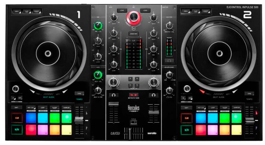 HERCULES DJ CONTROL INPULSE 500